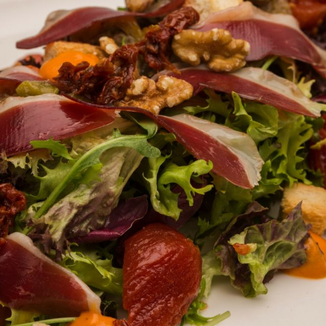 Country duck salad